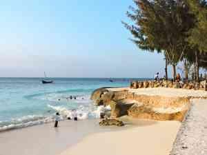 The beaches of Zanzibar by Zoe Francis