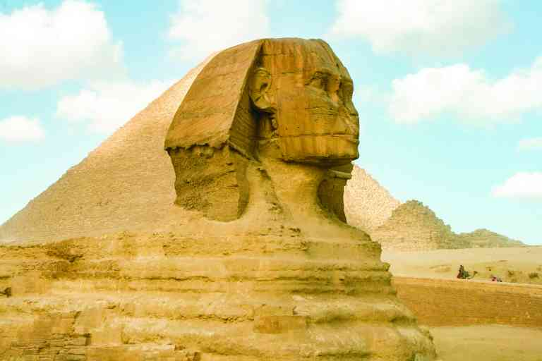 The Great Sphinx, Giza, Egypt by David Hein