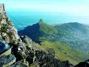 Table Mountain, Cape Town, South Africa by Marion Bunnik