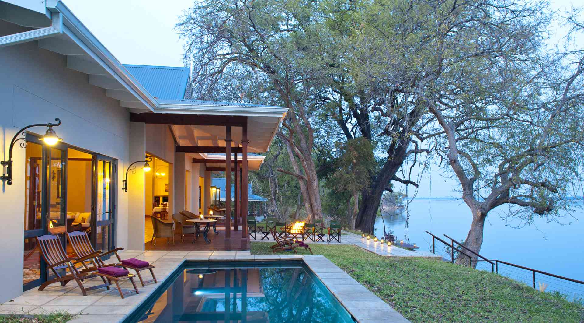 Lower Zambezi lodge, Zambia
