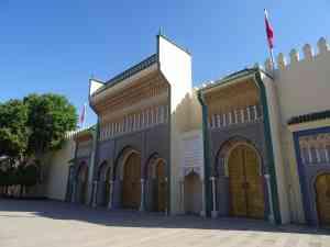 Royal Palace, Fez, Morocco by Matt Baldock