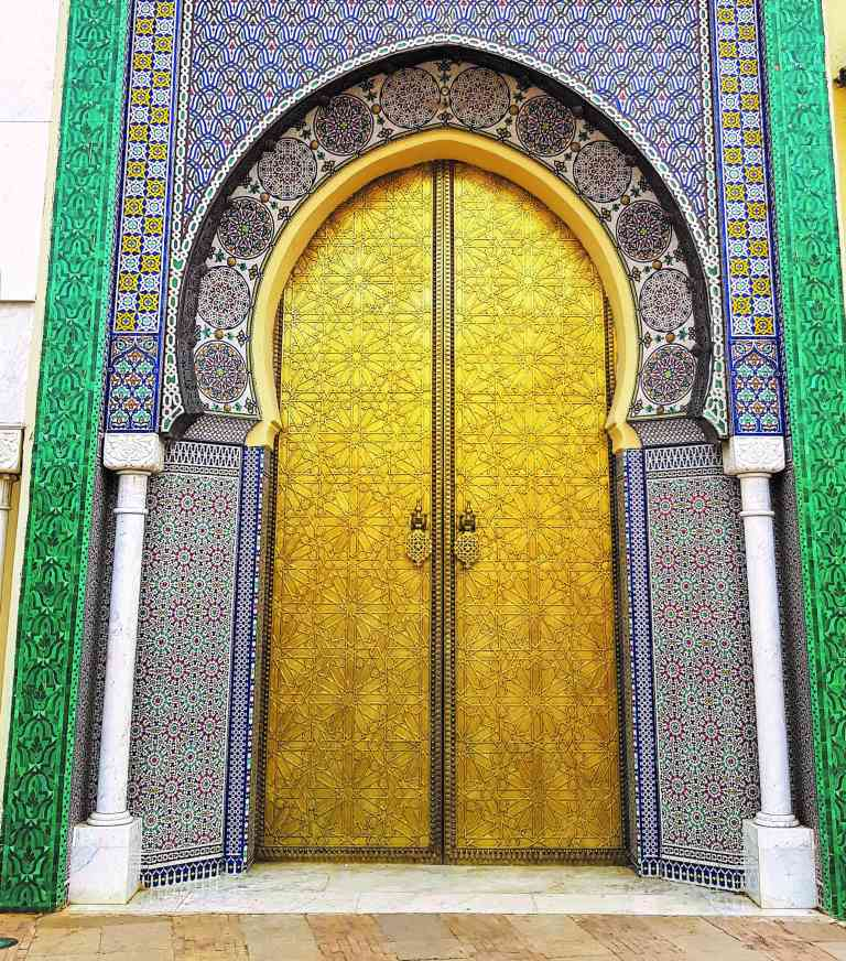 Royal Palace, Fez, Morocco by Dennis Bunnik