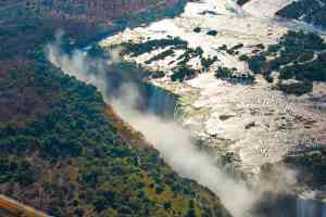 Victoria Falls, Zimbabwe by Graham Meale