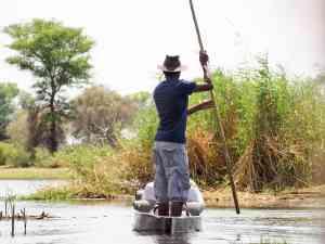 Mokoro Cruise, Botswana by Emily Fraser