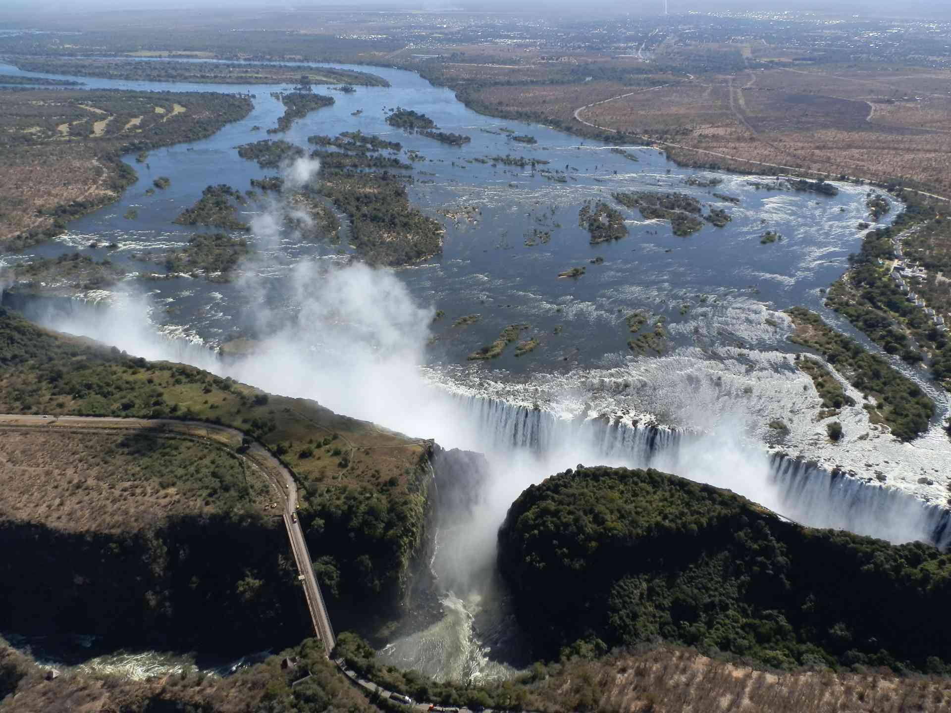 Victoria Falls, Zimbabwe by Maree Bock