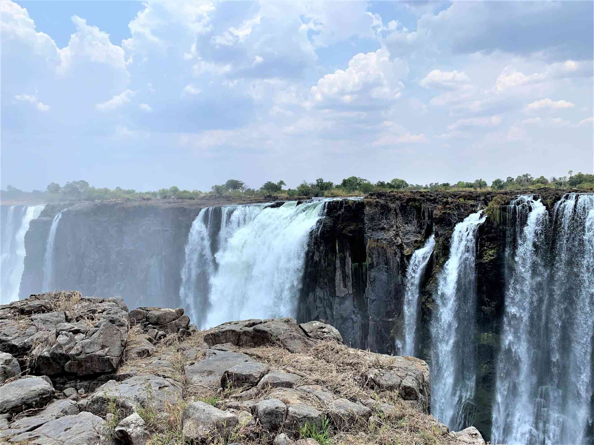 Victoria Falls, Zimbabwe by Emily Fraser