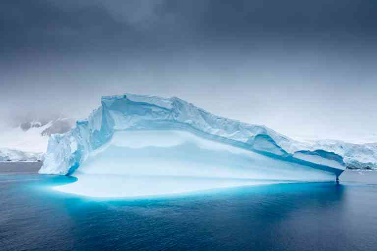 Lemaire Channel, Antarctica by David Hein
