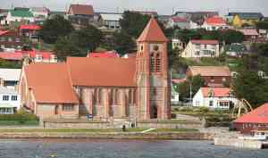 The church of Port Stanley by Erwin Vermeulen - Oceanwide Expeditions.