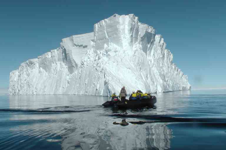 Iceberg and Zodiac Cruise, Commonwealth Bay, Antarctica by Aurora Expeditions