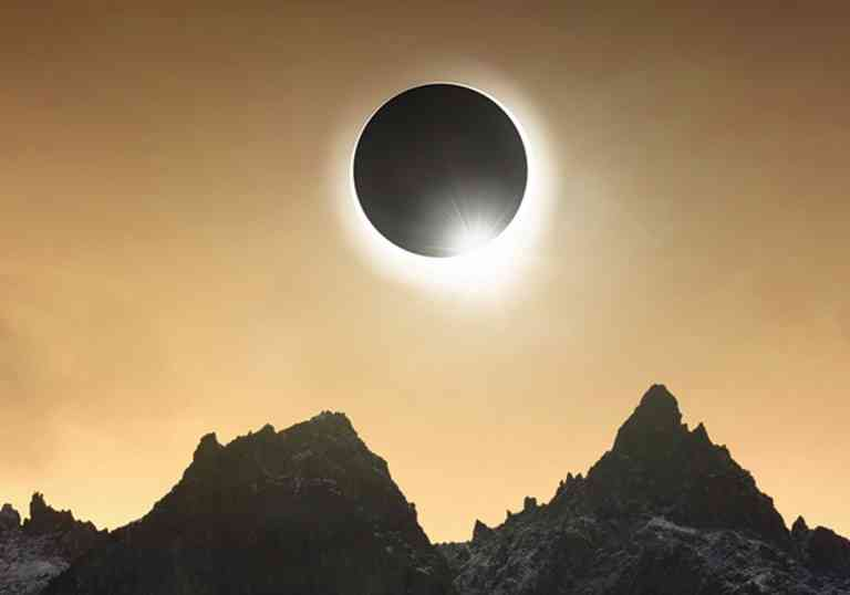 Solar Eclipse, Antarctica by Aurora Expeditions
