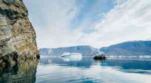 Experience the enormity of Greenland on a thrilling Zodiac cruise, East Greenland by Aurora Expeditions
