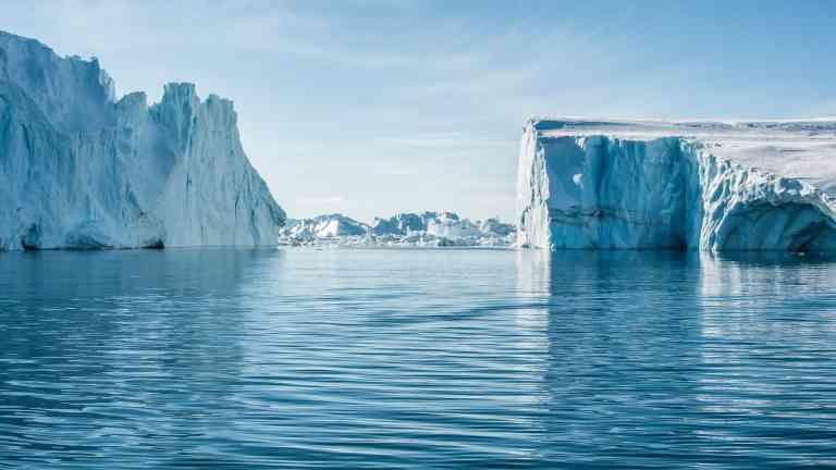 Ilulissat Icefjord, a UNESCO World Heritage Site, Greenland by Aurora Expeditions