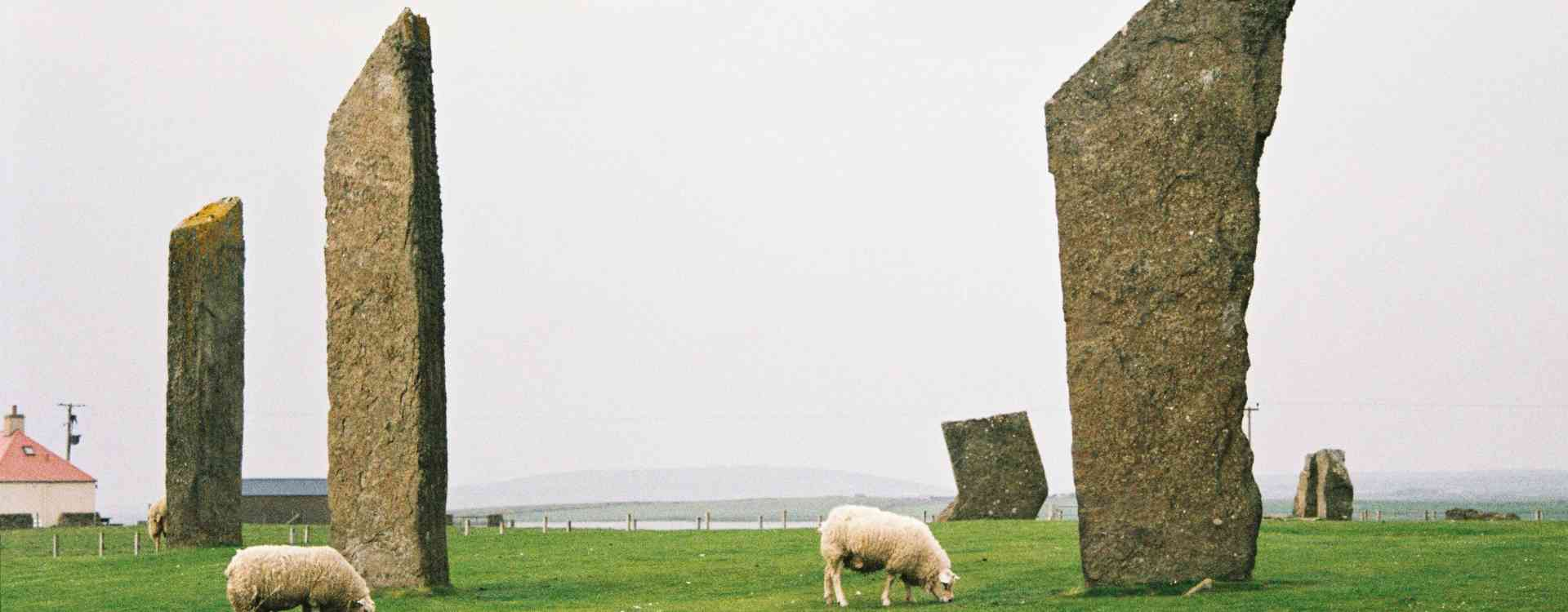 Orkney Islands' Standing Stones of Stenness, by Jasmin Gorsuch