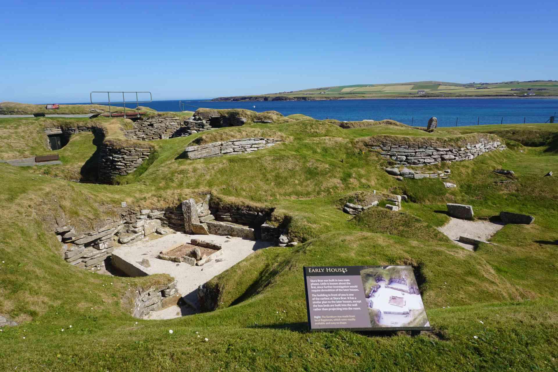 Skara Brae Prehistoric Village, Orkney Islands, Arctic by Aurora Expeditions