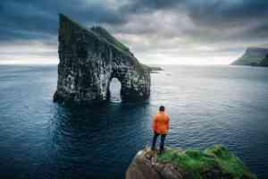 Drangamir gates, Faroe Islands by Aurora Expeditions