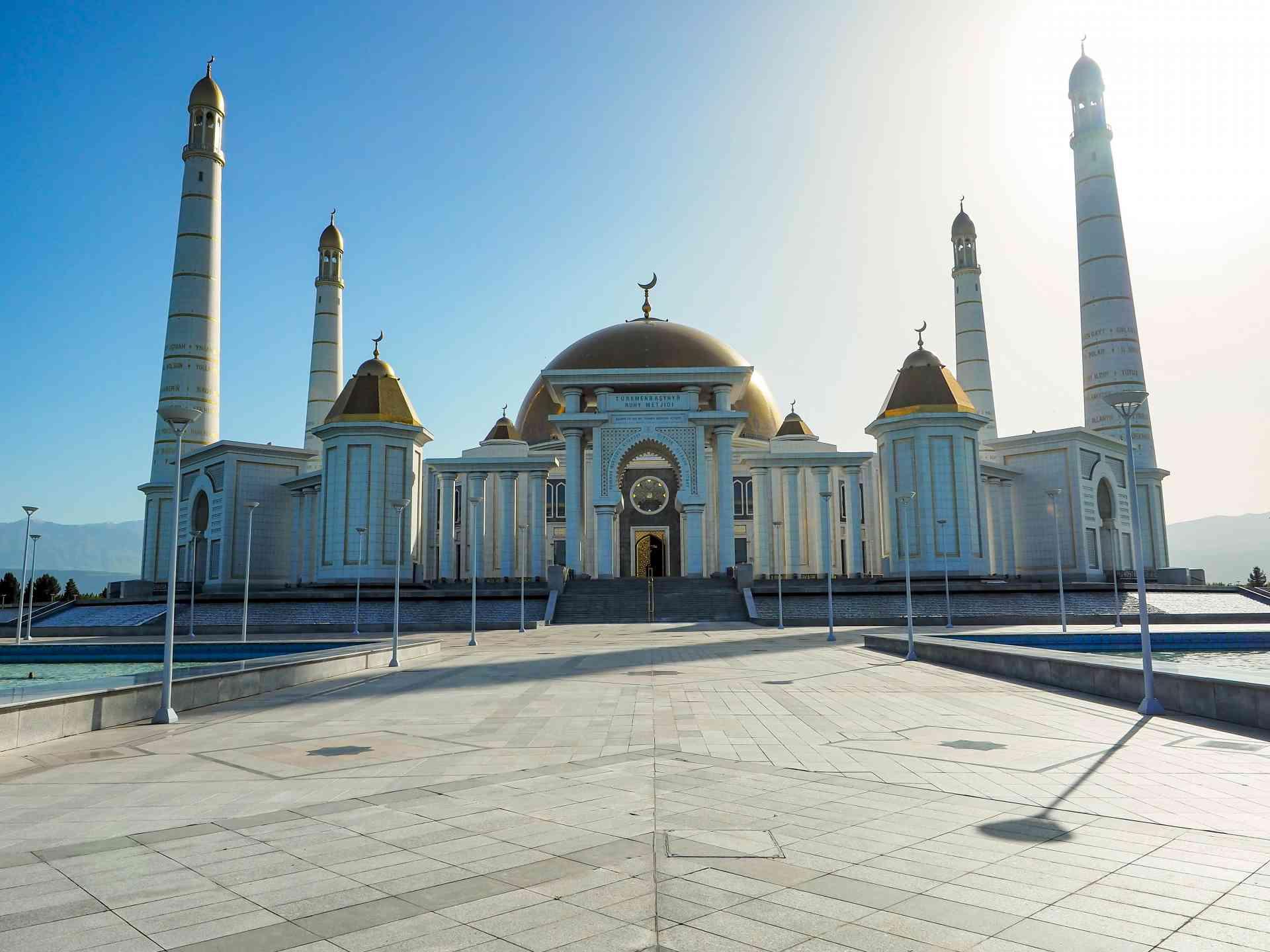 Ertuğrul Gazi Mosque, Ashgabat, Turkmenistan