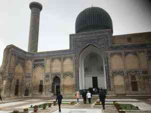 Bahauddin Naqshband Mausoleum, Bukhara, Uzbekistan by Annelieke Huijgens