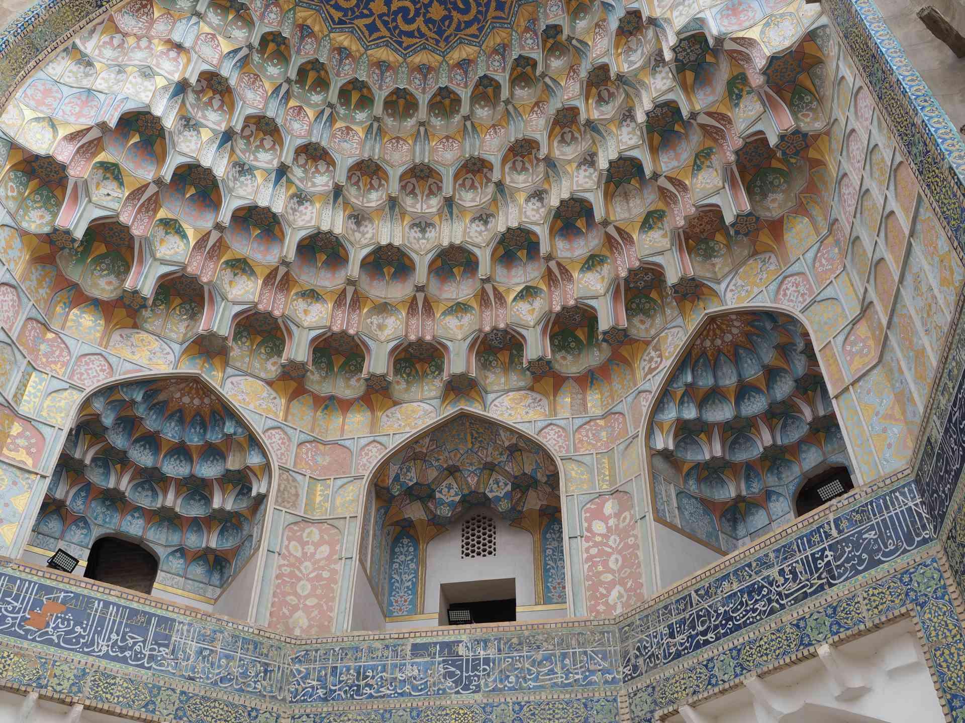 Madrassah Aziz Khan, Bukhara, Uzbekistan by Annelieke Huijgens