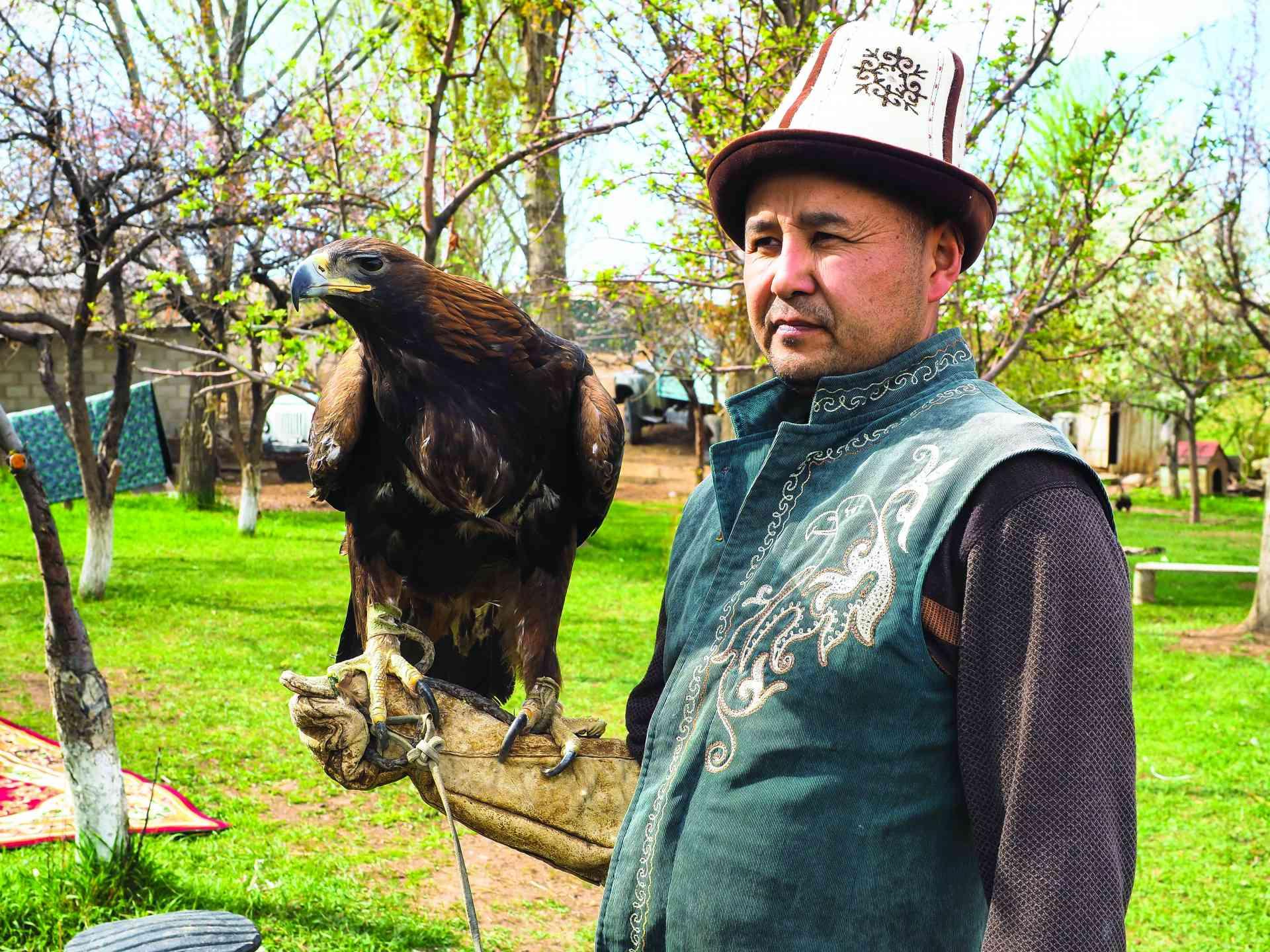 Eagle Hunting, Bokonbaevo, Kyrgyzstan by Annelieke Huijgens