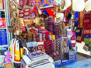 Russian Bazaar, Ashgabat, Turkmenistan by Annelieke Huijgens