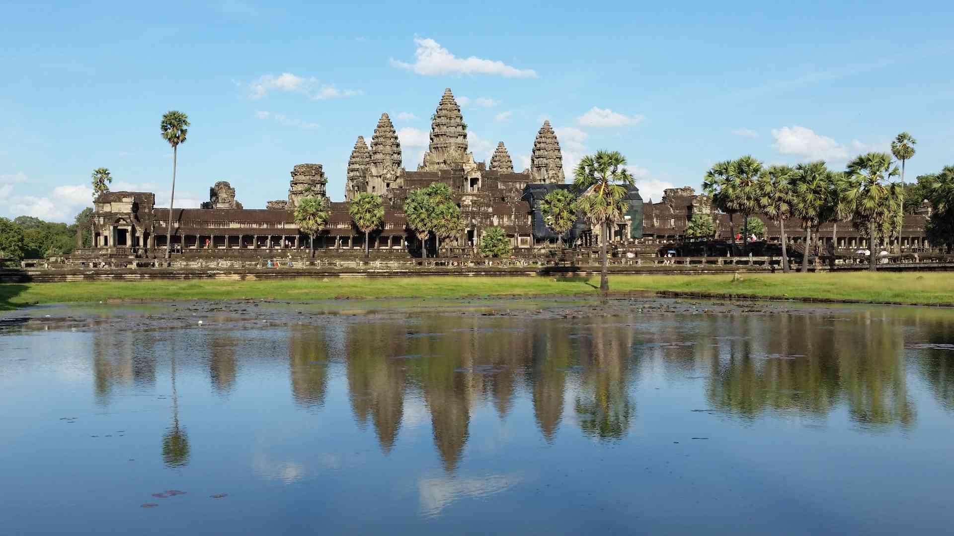 Angkor Wat, Cambodia by Dennis Bunnik