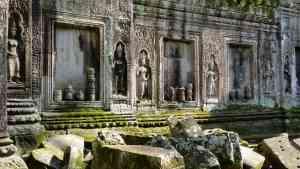 Angkor Thom, Cambodia by Dennis Bunnik