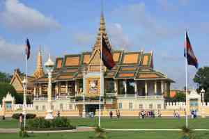 Royal Palace, Phnom Penh, Cambodia by Silvia Schweininger