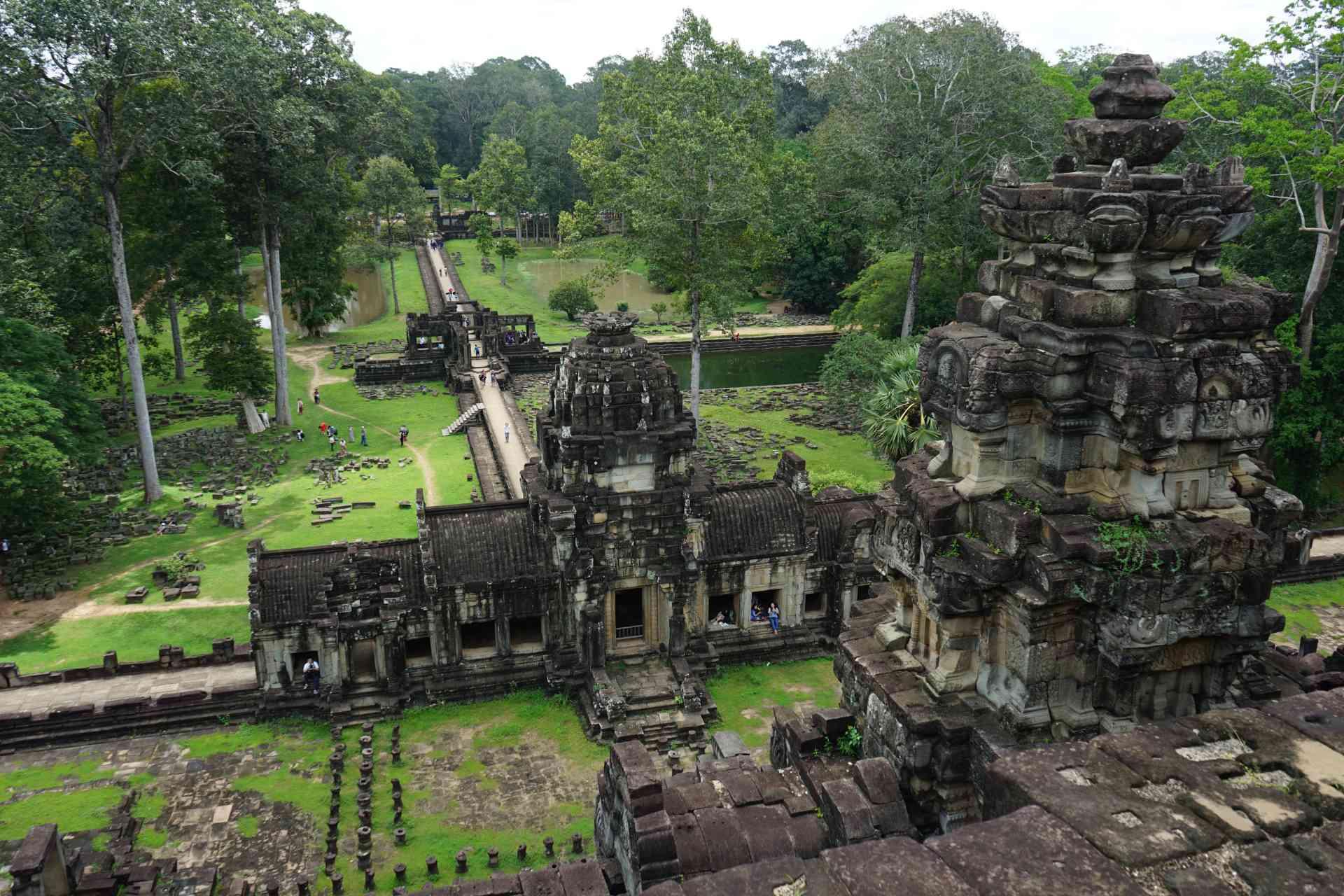 Baphuon Temple, Cambodia by Priscilla Aster