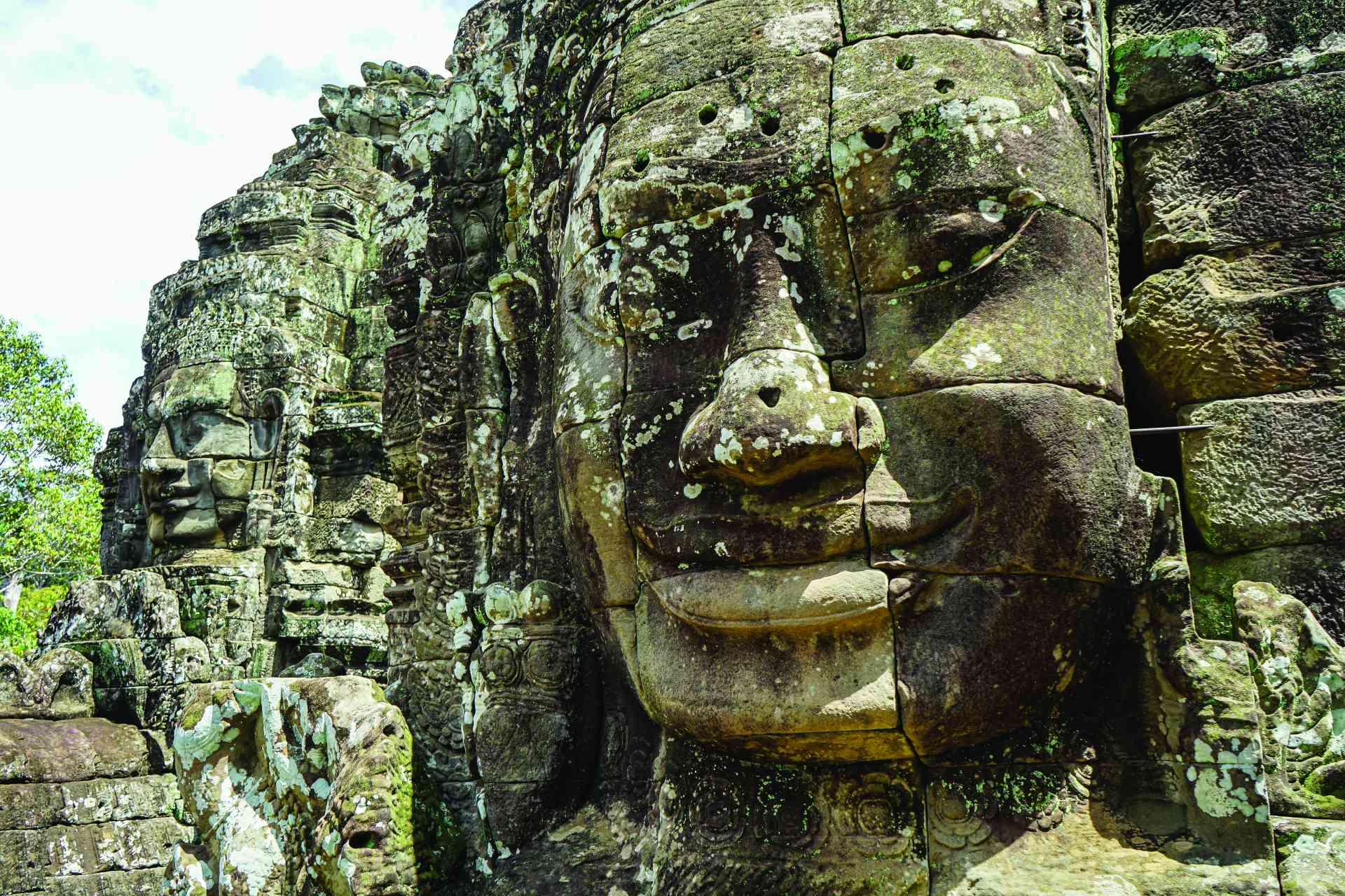 Angkor Thom, Cambodia by Priscilla Aster