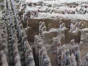 Terracotta Warriors, Xi'an, China by David Hein