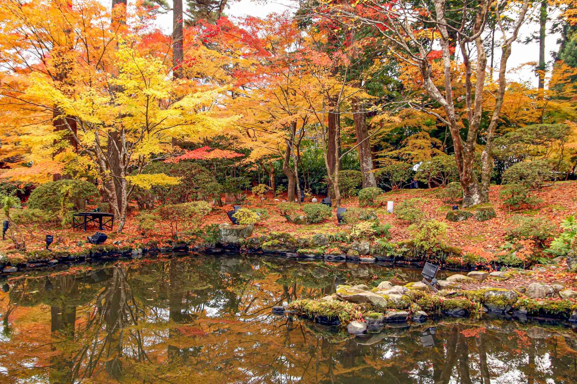 Entsu-in Temple garden, Japan