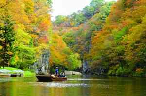Geibikei Gorge, Japan