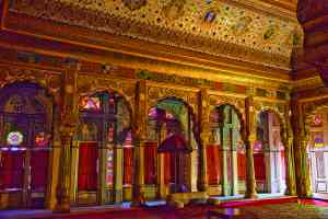 Inside the Mehrangarh Fort in Jodhpur, India by Graham Meale