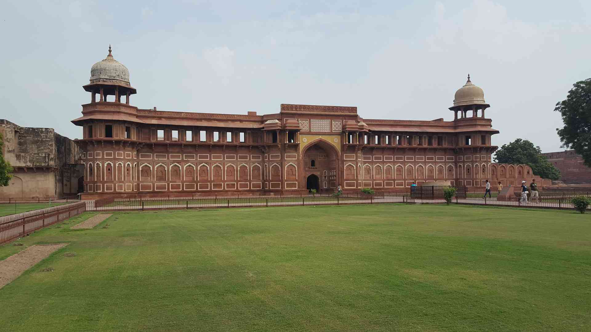 Agra Fort, India by Dennis Bunnik