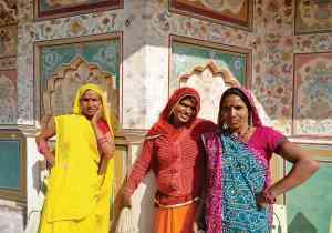 Locals in Jaipur, India