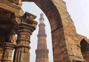 Qutub Minar, Delhi by Dennis Bunnik