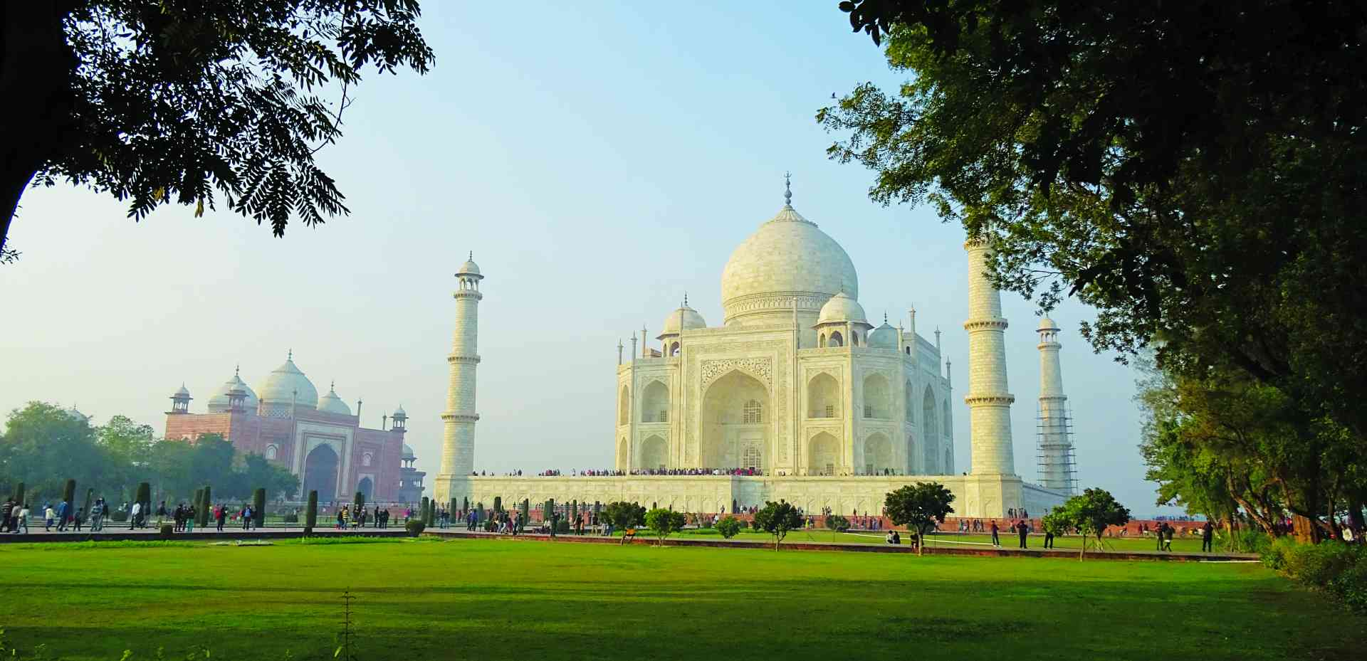 Taj Mahal, India by Dennis Bunnik