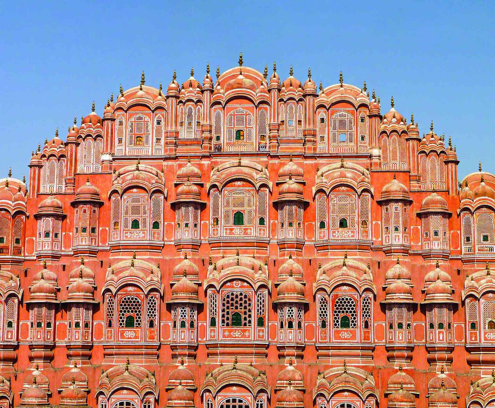 Hawa Mahal, Jaipur by Julie Moran