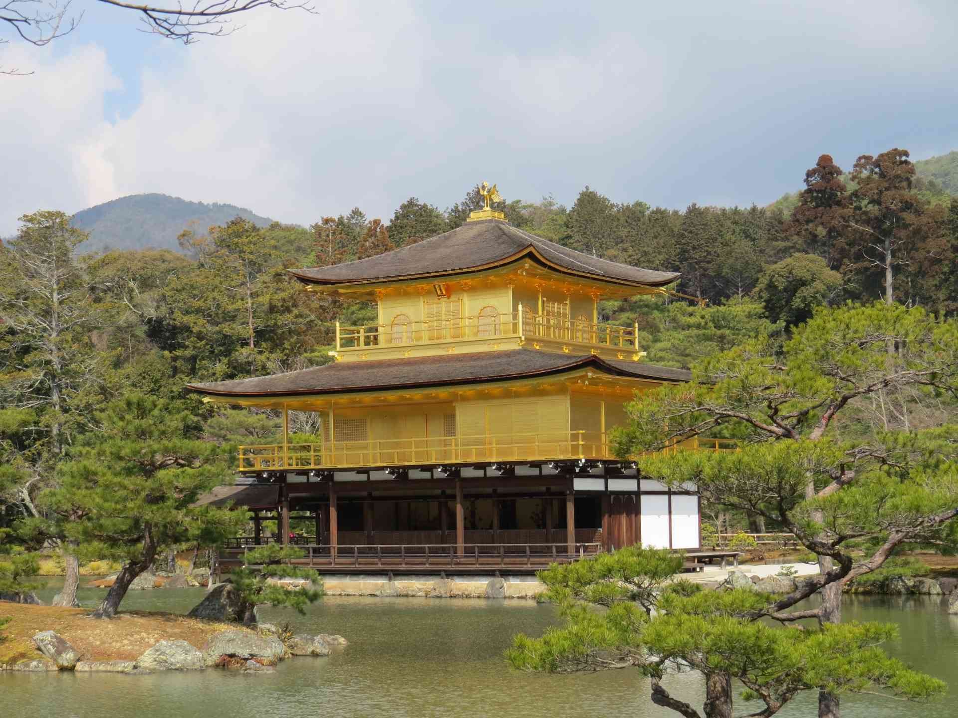 Golden Pavilion, Kyoto, Japan by Adam Dickson