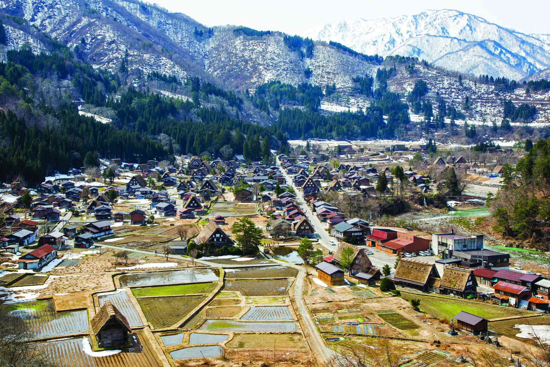 Shirakawago, Japan by Graham Meale