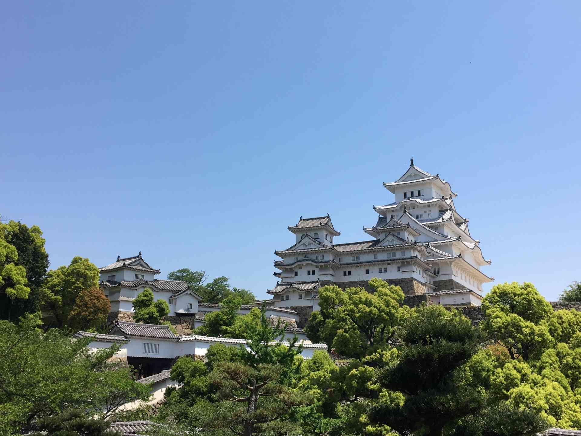 Himeji Castle, Japan by Abbie Bell