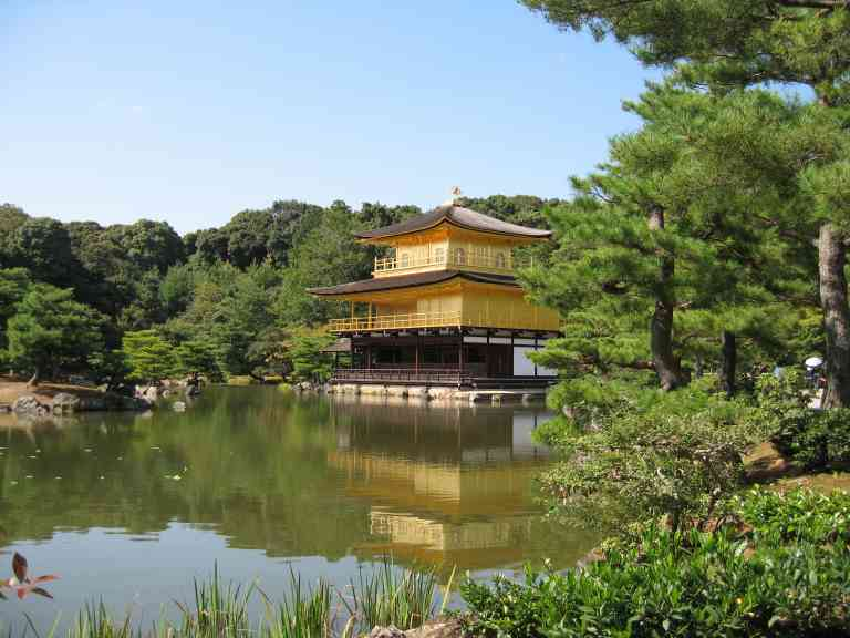 Golden Pavilion, Kyoto, Japan by Dennis Bunnik