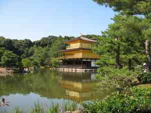 Golden Pavilion in Kyoto, Japan by Dennis Bunnik