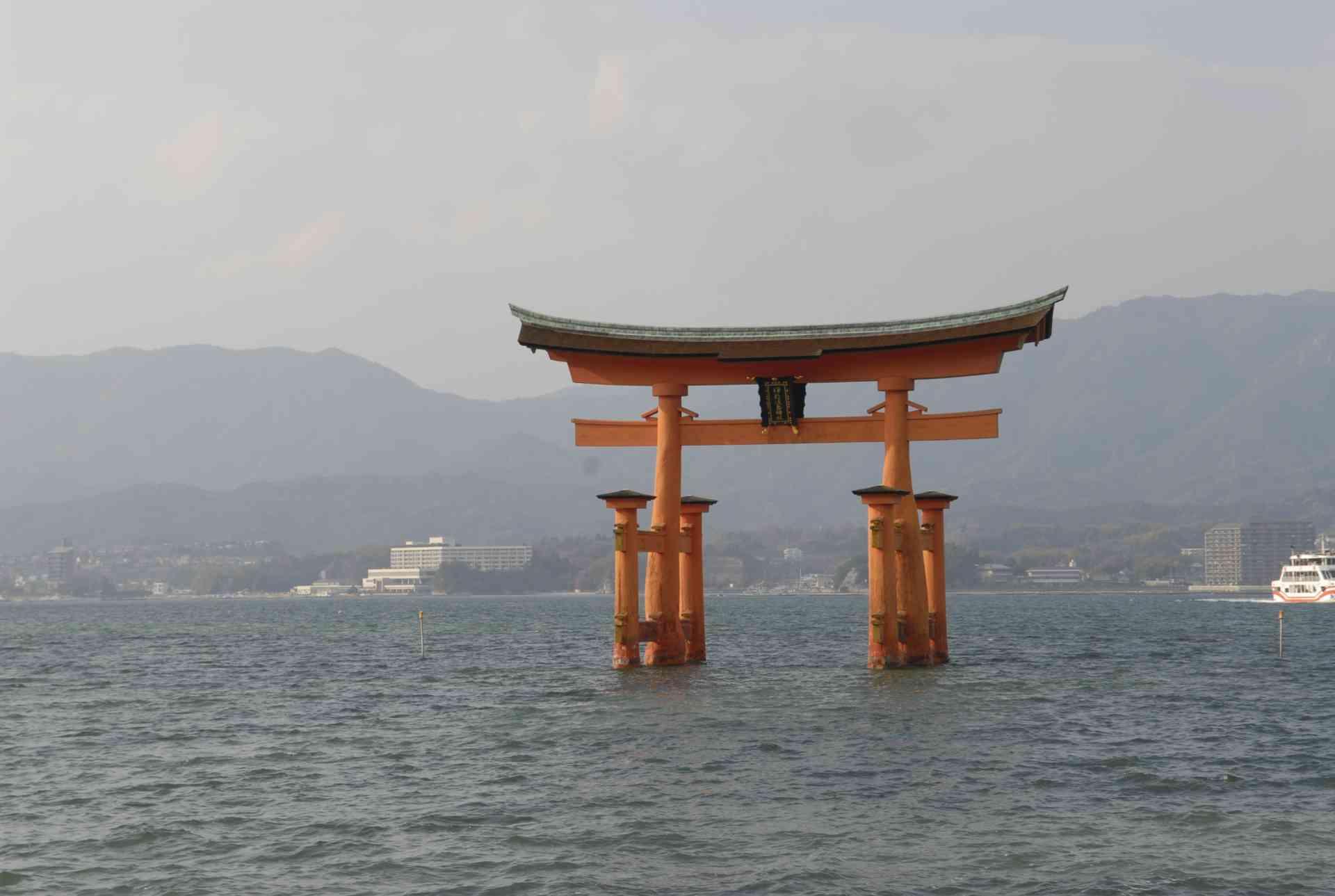Torii Gate, Miyajima, Japan by Mirza Ariadi