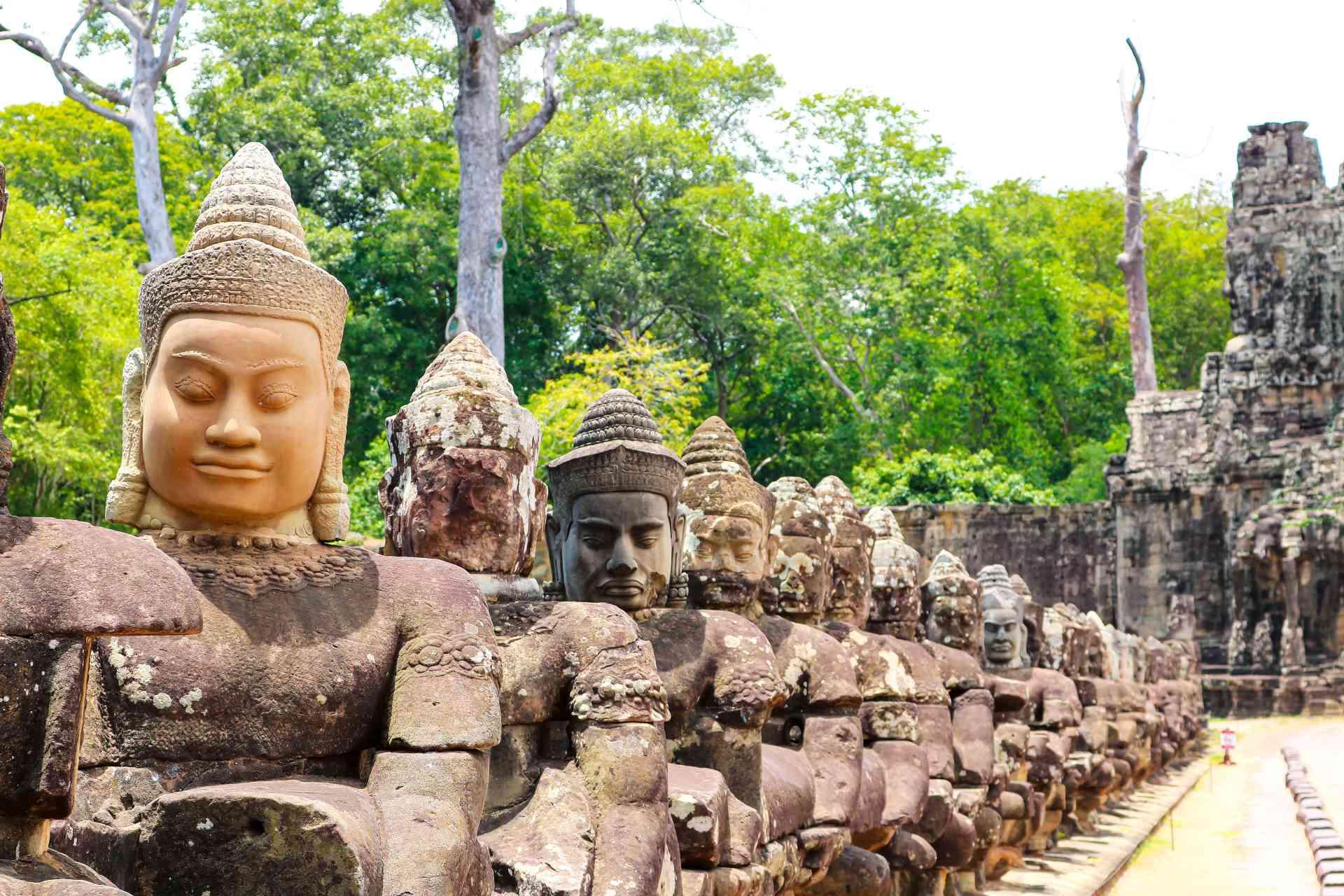 Angkor Thom, Cambodia by Kristi Rutten