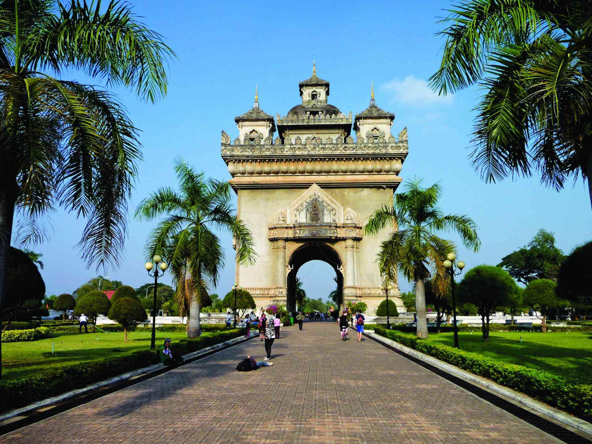 Patuxai Monument, Vientiane, Laos