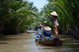 Mekong Delta Canals, Vietnam by Victoria Hearn