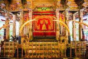 The Temple of the Sacred Tooth Relic, Kandy, Sri Lanka