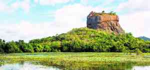 Sigiriya 'Lion Rock', Sri Lanka by Graham Meale