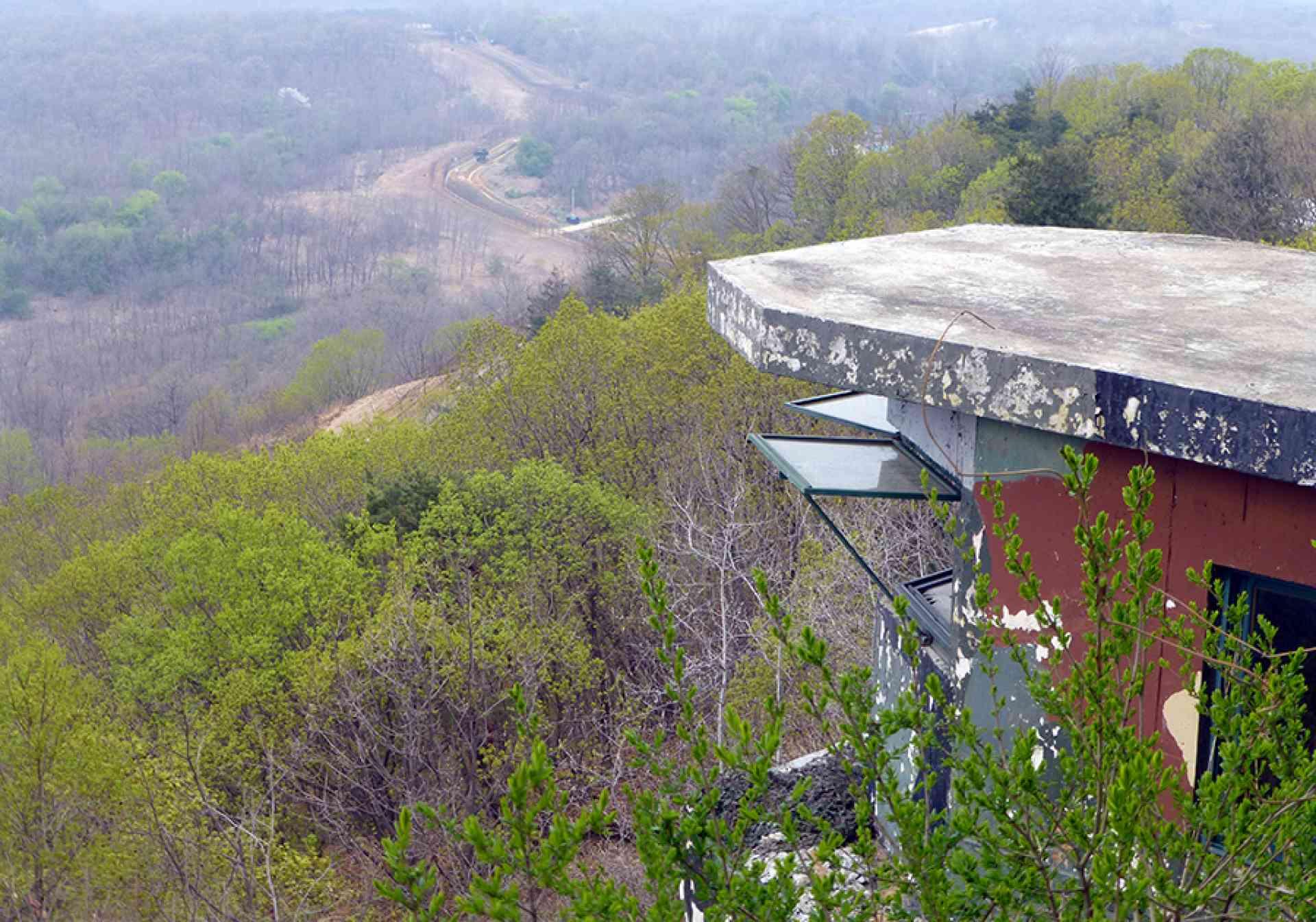 DMZ View into North Korea, South Korea